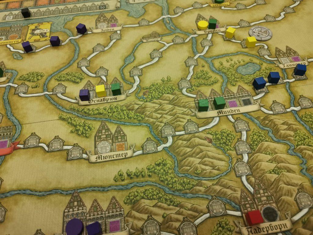 Ганзейский союз настольная игра